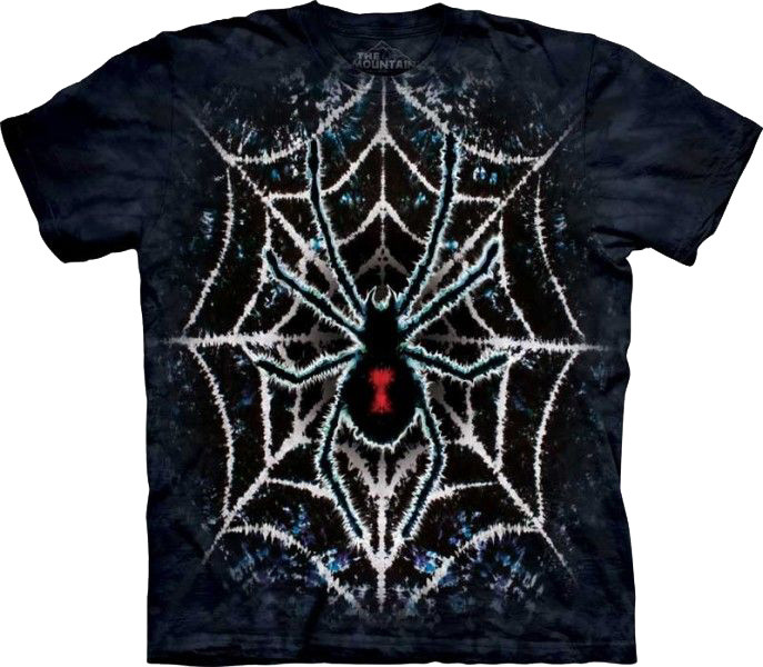 Tričko The Mountain Tie Dye Spider (US XL / EU XXL)