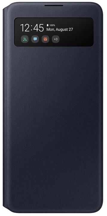 Samsung flipové pouzdro S View pro Samsung Galaxy A51, černá
