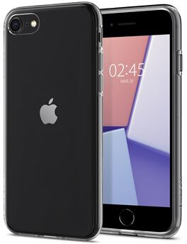 Spigen ochranný kryt Crystal Flex pro iPhone 7/8/SE 2020, transparentní