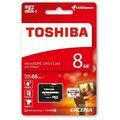 Toshiba Micro SDHC Exceria M301 8GB 48MB/s UHS-I + adaptér