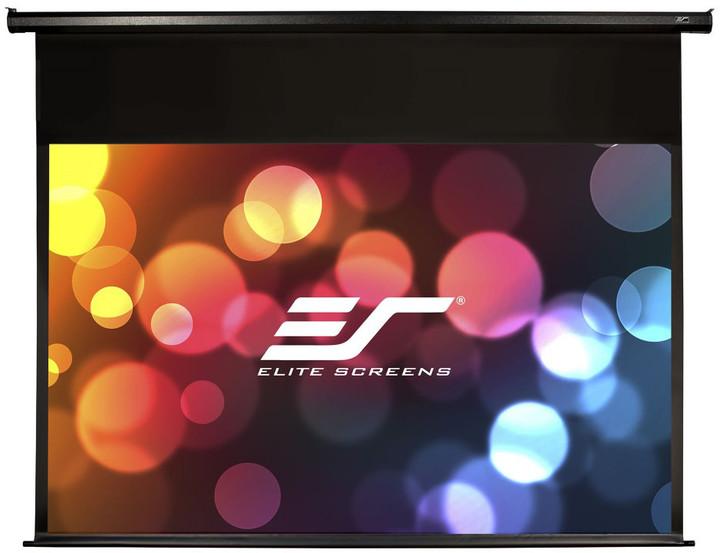"""Elite Screens plátno elektrické motorové 150"""" (381 cm)/ 16:9/ 186,9 x 332 cm/ case černý"""