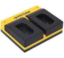 PATONA nabíječka pro Panasonic DMW-BLK22, USB, černá - PT191697