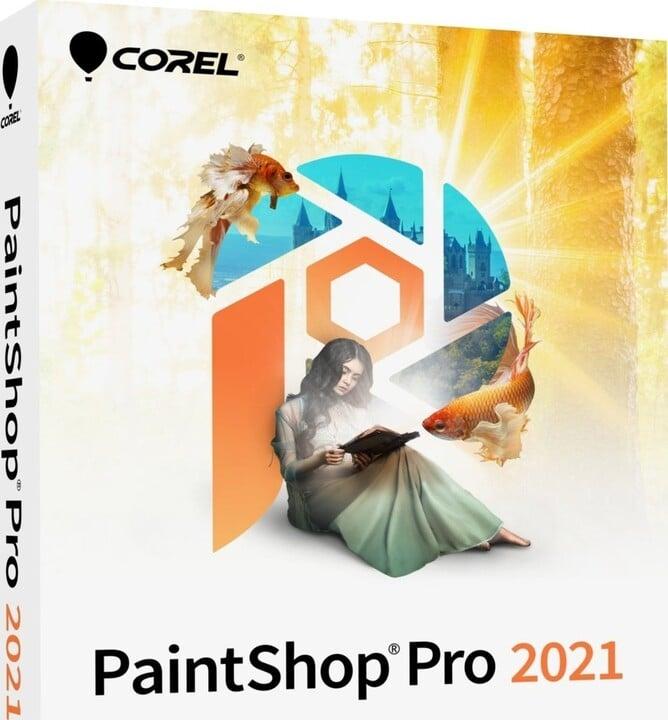 Corel PaintShop Pro 2021 Corporate Edition Upgrade pro 1 uživatele - el. licence OFF