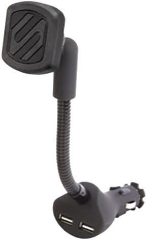 Scosche magicMOUNT MAGC242 Power magnetický držák do autozapalovače s dvěma USB konektory