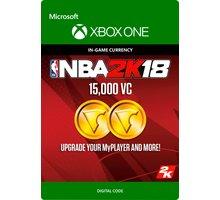 NBA 2K18 - 15000 VC (Xbox ONE) - elektronicky