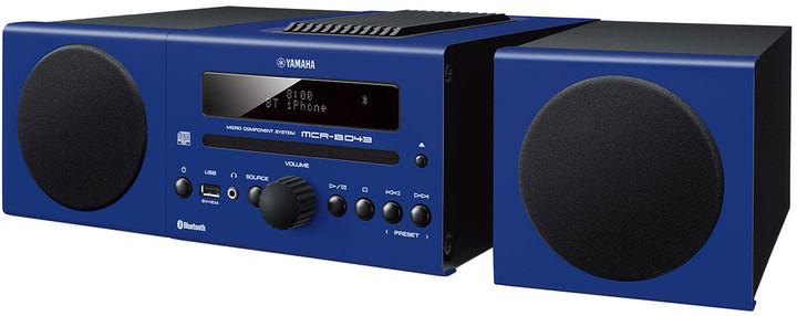 Yamaha MCR-B043, modrá