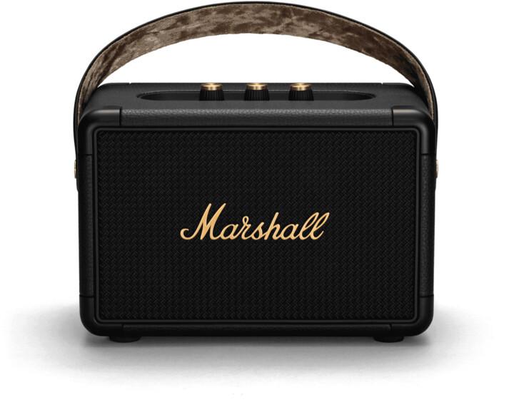 Marshall KilBurn II, černo-mosazná