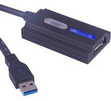 PremiumCord e-SATA adaptér s kabelem USB 3.0 - ku3ides3