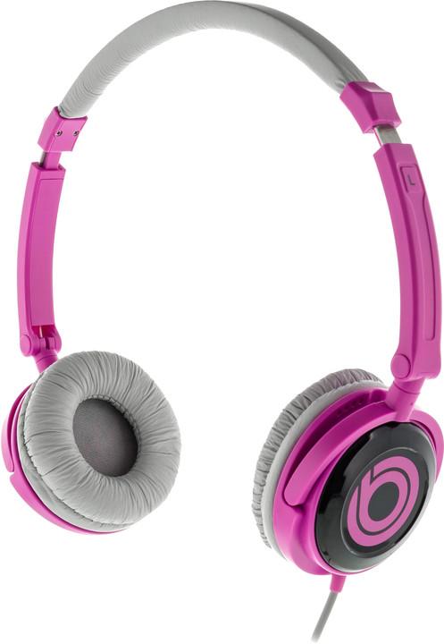 BUXTON BHP 8020 sluchátka, fialová