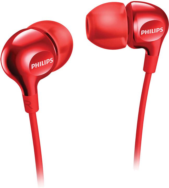 Philips SHE3700RD/00, červená