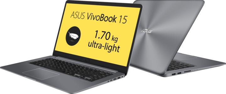 ASUS VivoBook 15 X510UA, šedá