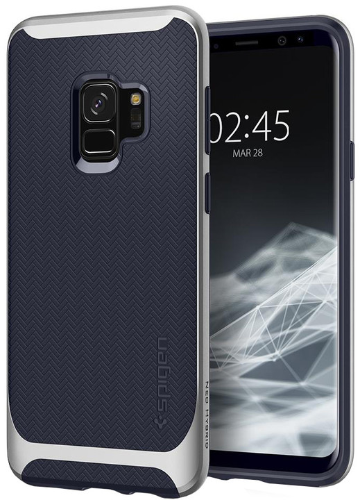 Spigen Neo Hybrid pro Samsung Galaxy S9, arctic silver