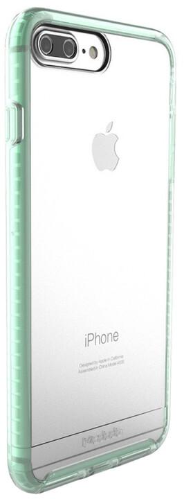 Mcdodo iPhone 7 Plus/8 Plus PC + TPU Transparent Case Patented Product, Green