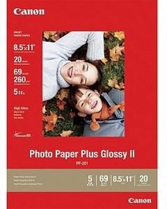 Canon Foto papír Plus Glossy II PP-201, A3+, 20 ks, 260g/m2, lesklý