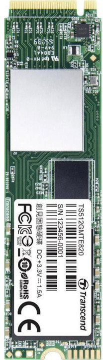 Transcend MTE820, M.2 - 512GB