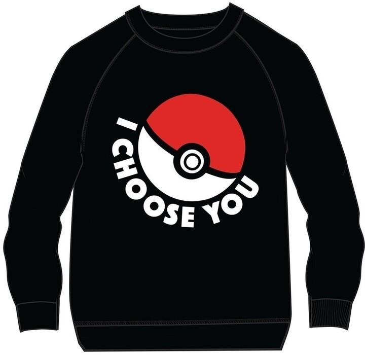 Mikina Pokémon - I Choose You, dětská (velikost 134/140)