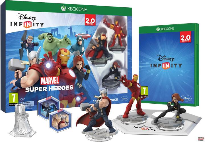 Disney Infinity 2.0: Marvel Super Heroes: Starter Pack - XONE