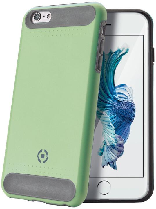 CELLY Rock zadní kryt pro Apple iPhone 6S, zelený