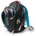 """DICOTA Backpack Active 15,6"""", černá/modrá"""