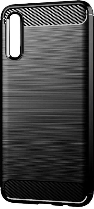 EPICO CARBON pouzdro pro Samsung Galaxy A70, černá
