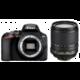 Nikon D3500 + 18-105mm