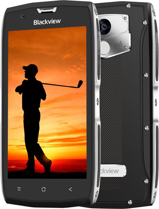iGET BLACKVIEW GBV7000 Pro, Dual SIM, stříbný