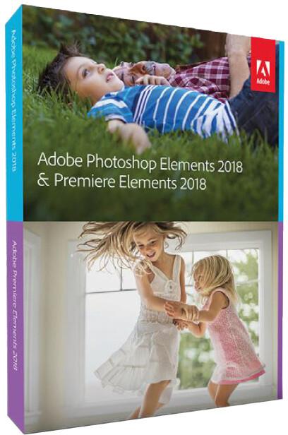 Adobe Photoshop Elements + Premiere Elements 2018 CZ