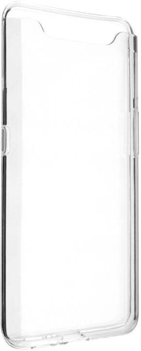 FIXED ultratenké TPU gelové pouzdro Skin pro Samsung Galaxy A80, 0,6 mm, čiré