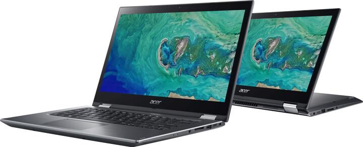 Acer Spin 3 (SP314-52-32J4), šedá + záruka 3 roky