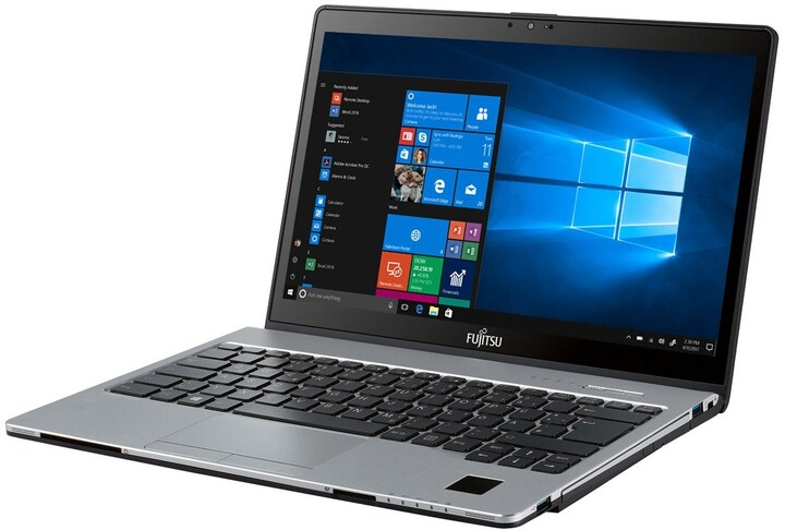 Fujitsu Lifebook S938, stříbrná