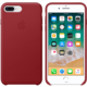 Apple kožený kryt na iPhone 8 Plus / 7 Plus (PRODUCT)RED, červená