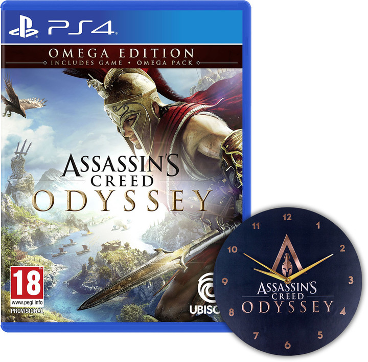 Assassin's Creed: Odyssey - Omega Edition (PS4) + Hodiny