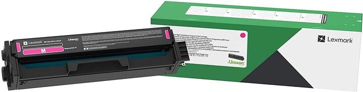 Lexmark C3220M0, purpurová, return