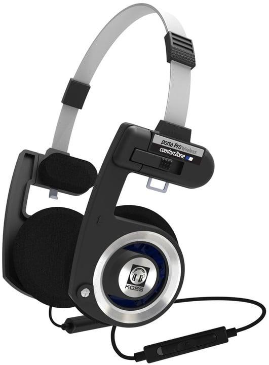 KOSS Porta Pro Wireless, černá