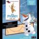 Stavebnice Frozen - Olaf (dřevěná)