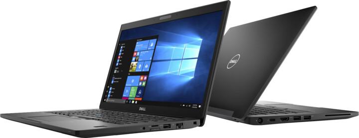 Dell Latitude 14 (7480) Touch, černá