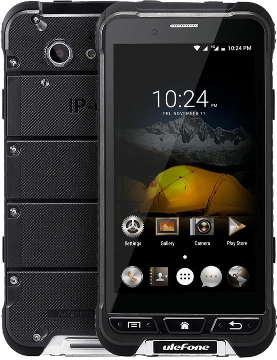 Ulefone Armor DS, 3GB/32GB, černá