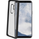 CELLY Laser TPU pouzdro - lemování s matným kovovým efektem pro Samsung Galaxy S9, černé