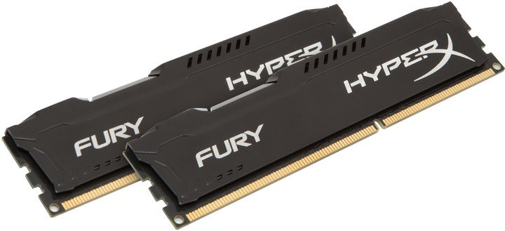 HyperX Fury Black 16GB (2x8GB) DDR3 1333