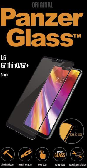PanzerGlass Edge-to-Edge pro LG G7, černé