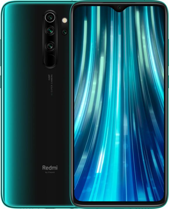 Xiaomi Redmi Note 8 Pro, 6GB/64GB, Forest Green