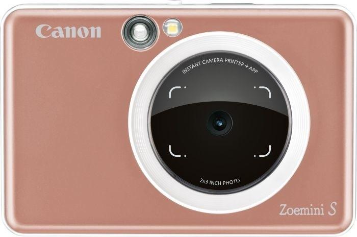 Canon Zoemini S, růžovozlatá
