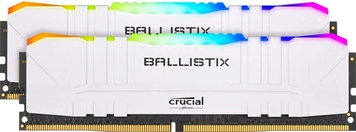 Crucial Ballistix RGB White 16GB (2x8GB) DDR4 3200 CL16