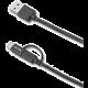 CELLY USB kabel s konektorem microUSB - USB typu C