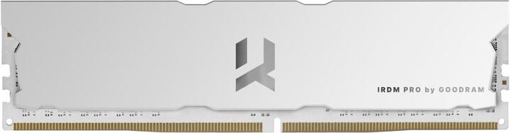 GOODRAM IRDM PRO 16GB (2x8GB) DDR4 3600 CL17, bílá