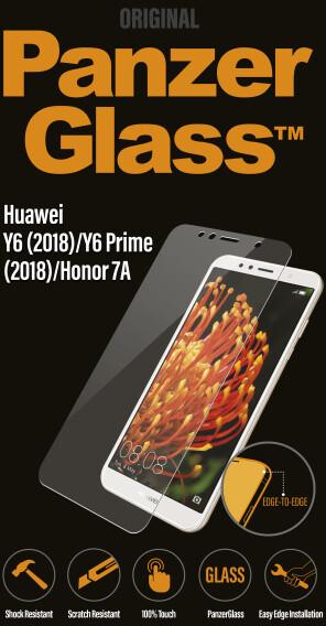PanzerGlass Edge-to-Edge pro Huawei Y6 (2018), čiré