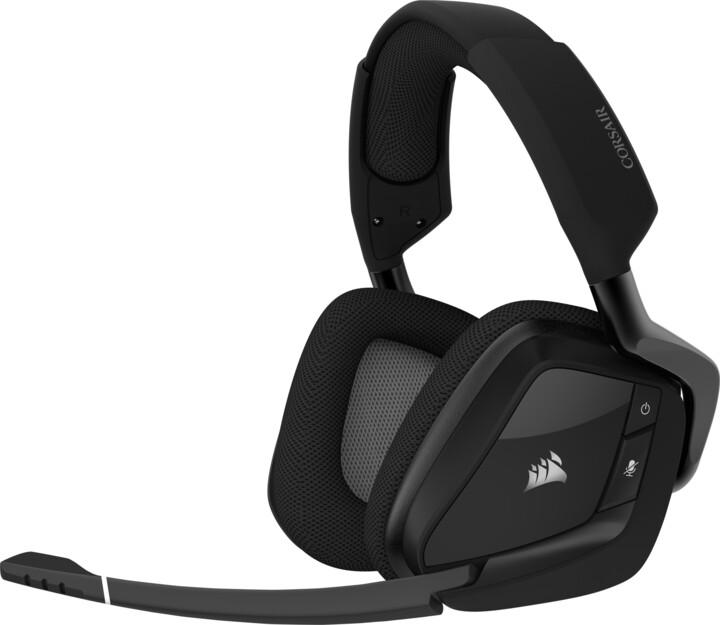 Corsair VOID RGB Elite Wireless, černá