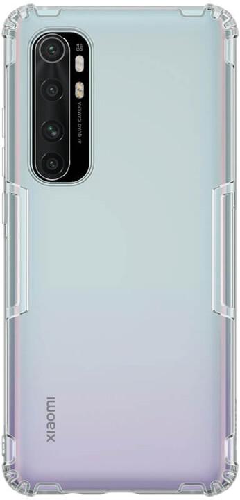 Nillkin pouzdro Nature TPU pro Xiaomi Mi Note 10 Lite, šedá
