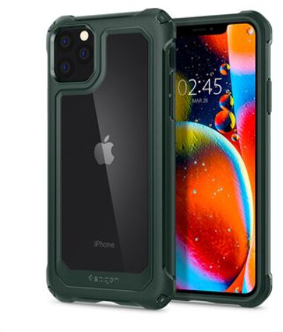 Spigen pouzdro Gauntlet pro iPhone 11 Pro Max, zelená