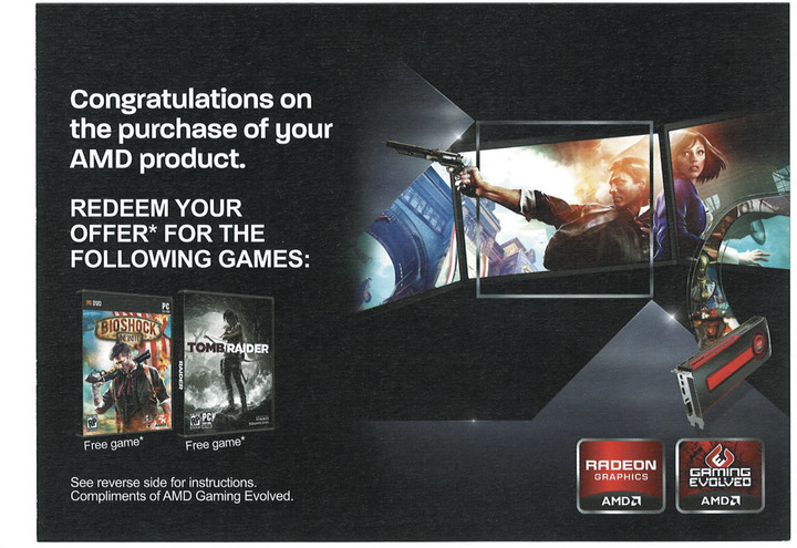 kupon na PC Hru Tomb Raider a Bioshock Infinite v ceně 2200 Kč
